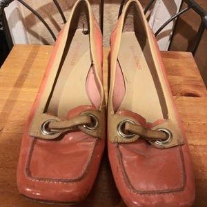 Rare Enzo Angiolini EA Flex Flat Loafers Size 9